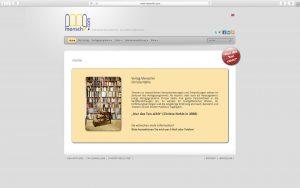 dh+ | Website & Webshop Verlag Menschin