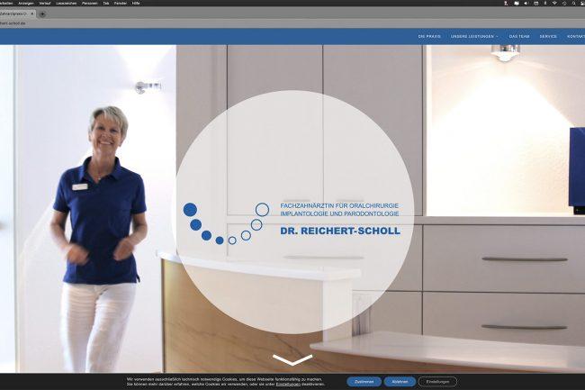 dh+ | Website Dr. Beate Reichert-Scholl, Korntal